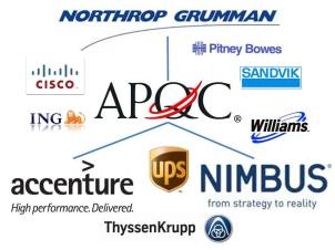 APQC Study Logos