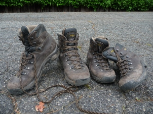 The boots after 400 miles