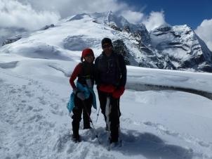 On the way to Mera Peak
