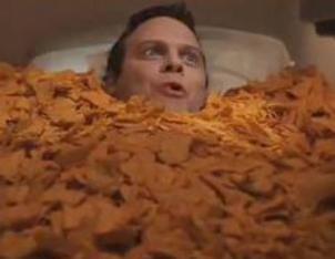 Casket full of doritos