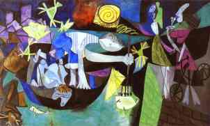 Picasso's Night Fishing at Antibes (1939)