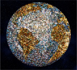 I Am Large Globe