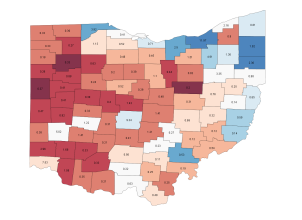 Ohio Election Map