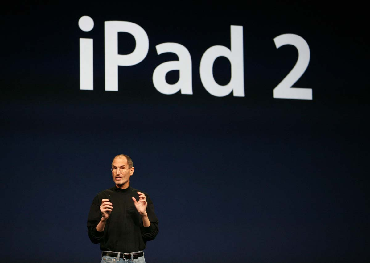 Steve Jobs On iPad2 Launch