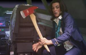 Angry Flight Attendant