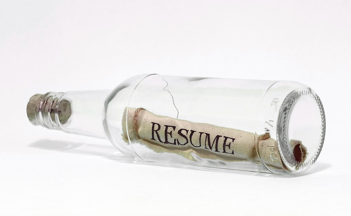 """you create your resume every day   if you    re doing it right    the phrase  """"i need to update my resume"""" is horribly   sending a couple of sheets of paper to define who you are and what you can do is past its"""