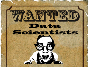 Wanted Data Scientists