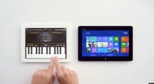 Windows 8 versus Apple iPad