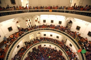 Texas fillibuster on abortion
