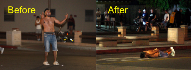 Huntington Beach Before and After