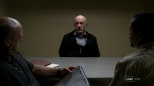 Mike interrogated on Breaking Bad